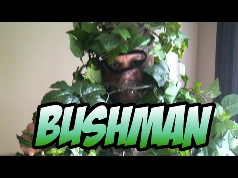 BushMan Prank...CentralPark