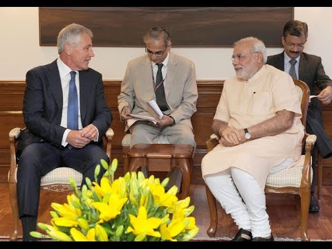 US Defence Secretary calls on PM Narendra Modi