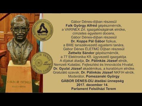 Gábor Dénes-díjak 2017. negyedik rész