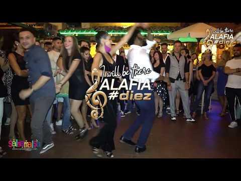 TERRY & BUSRA SOCIAL SALSA (GRUPO ALAFIA 10TH ANNIVERSARY)