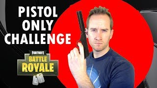 Pistol Only Challenge Victory & Proximity Chat in Fortnite Battle Royale?