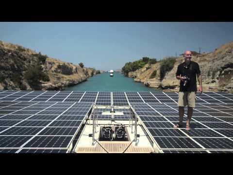 Planet Solar reaches Athens - Terrasubmersa mission