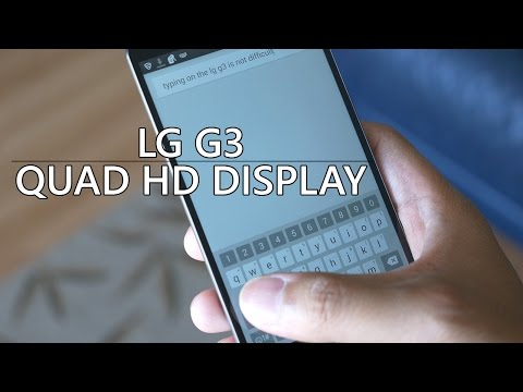 LG G3: Quad HD Display