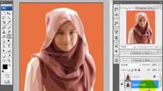 Tips Trik Edukasi - Membuat Kartun pada Photoshop CS3 13:36