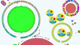Agario BIGGEST VIRUS EVER PRIVATE SERVER AND EXPERIMENTAL MODE Agar.io  Funny Moments