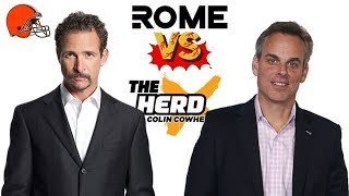 Jim Rome Vs Colin Cowherd After Browns Week 1 Loss