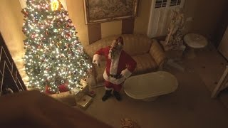 Scary Killer Santa Claus BREAKS INTO OUR HOUSE!!
