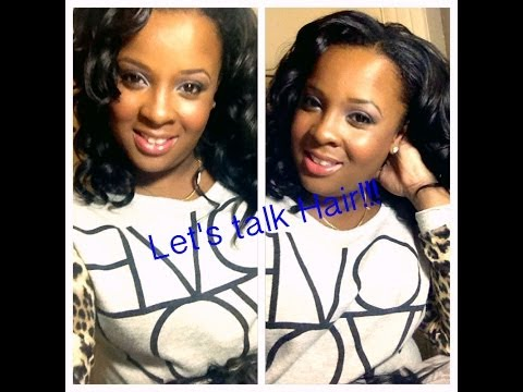 Lets Talk Hair! { Indian Remy Hair- Wet & Wavy } video