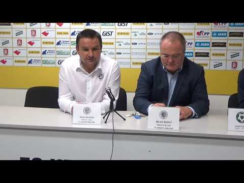 Tisková konference po utkání FC Hradec Králové - 1. FK Příbram 0:2