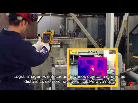 La cámara termográfica de infrarrojos Fluke Ti 400 con Autofocus para mediciones más precisas
