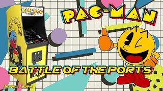 Battle of the Ports - Pac-Man (パックマン) Show #221 - 60fps