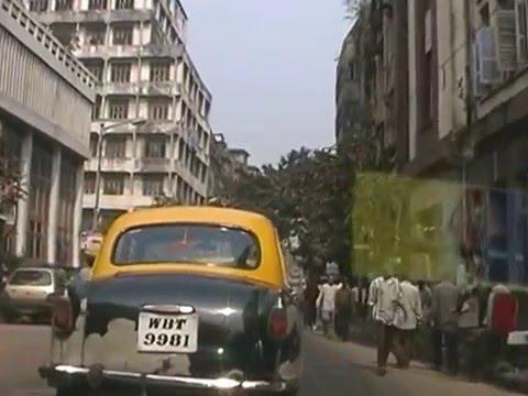 Drive to the Maghen David Synagogue in Calcutta
