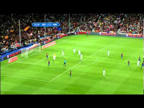 Barcelona vs Real Madrid / full match 1st half 17.08.11
