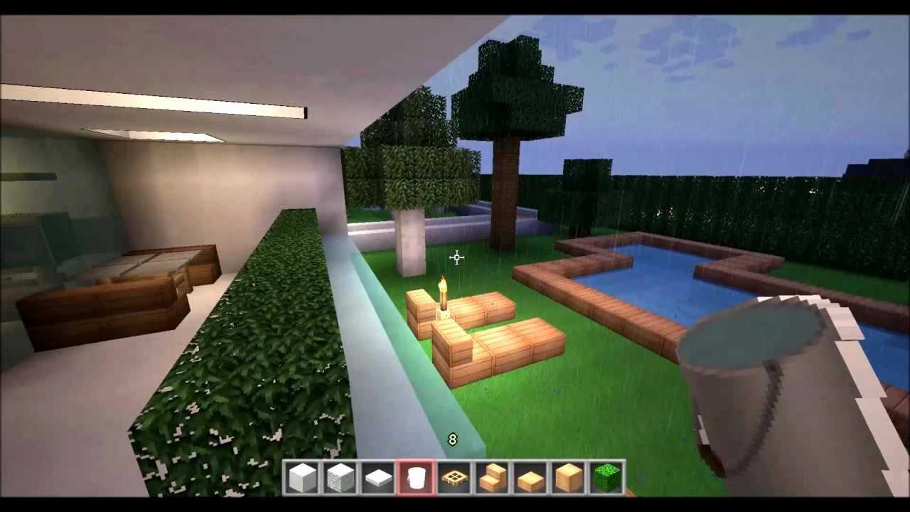Minecraft fan haus einrichten part 3 5 youtube - Minecraft haus einrichten ...