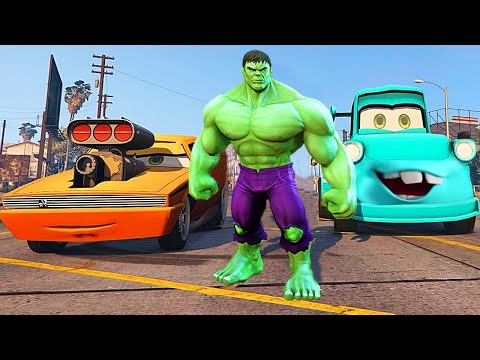 Grand Theft Auto V - Snot Rod From CARS 2 [Big Engine] - GTA 5 MOD