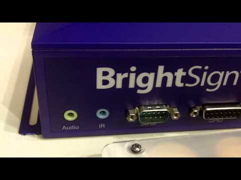 ISE 2015: COMM-TEC Shows BrightSign's 4K Digital Signage Players