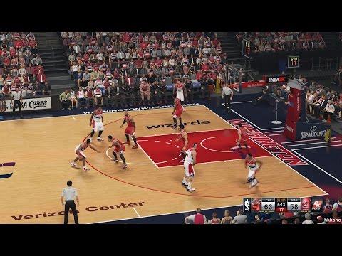 NBA 2K15 Chicago Bulls Vs Washington Wizards 09-01-2015