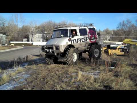 Custom Unimog for Magpul Industries