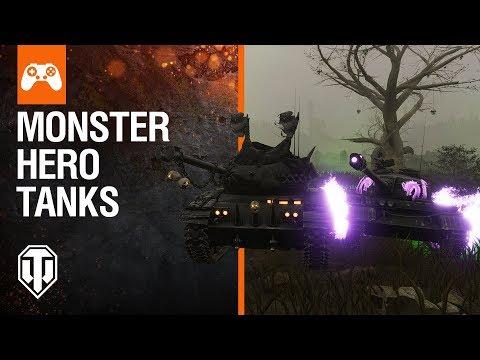 World of Tanks Console: Monster Tanks Awaken