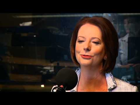 PM Julia Gillard with John Doyle on RN Summer Breakfast
