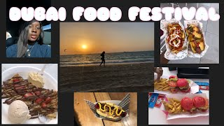 VLOG 1: Come with me to Dubai's food festival | Bibiyemi Funsho