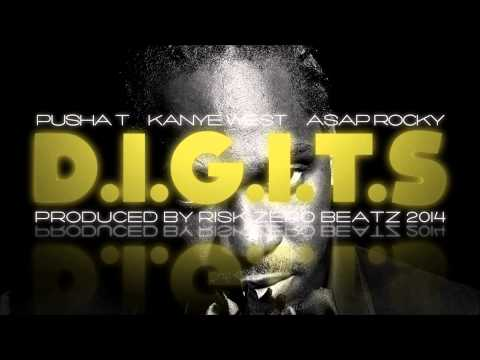 Pusha T X Kanye West X A$ap Rocky Type Beat - D.i.g.i.t.s By Risk Zero Beats 2014 video