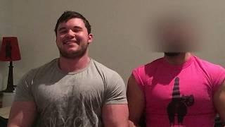 Gay Jr Bodybuilder   duo pec bounce