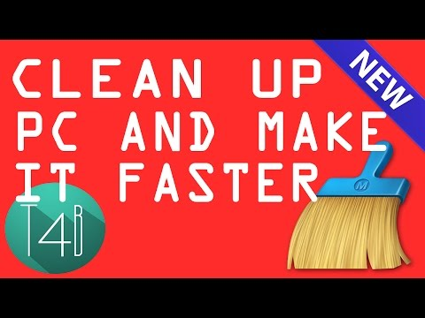 how to clean your pc to make it faster