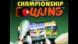 Championship Bowling on the SEGA Genesis/Mega Drive