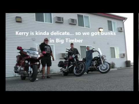 Part I   Three Old Guys Make A Motorcycle Touring  Ride