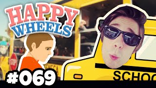 PEINLICH! Timmy von der SCHULE abholen :D ★ HAPPY WHEELS #069 | Herr Bergmann