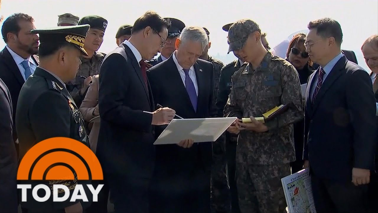 Defense Secretary Jim Mattis Travels To North Korea To Push For Diplomacy Amid High Tensions | TODAY