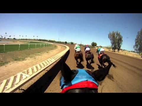 Jockey Cam: Cassie Papineau, Race 1 - Ride the Race at Turf Paradise