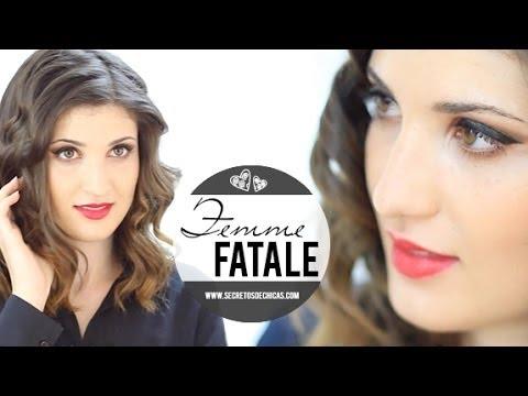 Maquillaje femme fatale