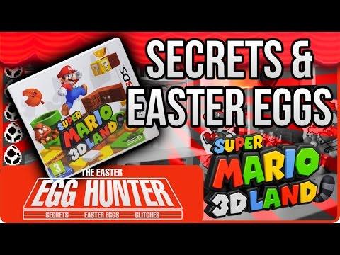 Super Mario 3D Land Secrets - The Easter Egg Hunter