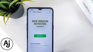 New Software Update Received in Realme 5 - What's New?