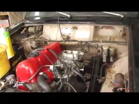 Datsun 521 L20b motor swap