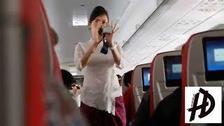 #151 Video Demo Safety Pramugari Lion Air