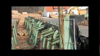 Log sorting line SAB 1995.flv