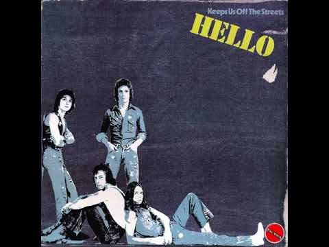 Hello- Keeps Us Off The Streets- Full Album- 1976  Bell Records Vinyl
