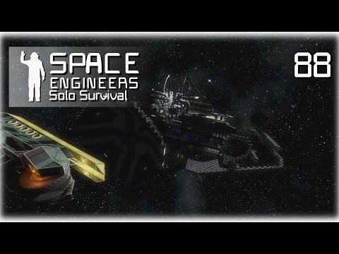 Space Engineers • Solo Survival • 88 •  Auto Dock