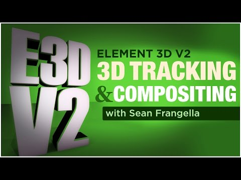 Element 3D V2 Tutorial - Tracking 3D Models into Footage (After Effects) - Sean Frangella