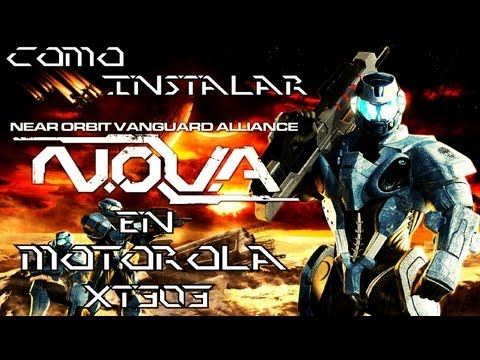 Como instalar N.O.V.A. en Motorola XT303
