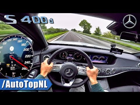 2018 Mercedes Benz S Class S400d AUTOBAHN POV TOP SPEED by AutoTopNL