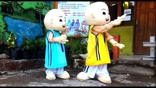 UPIN amp IPIN DANCE - BABY SHARK DANCE SONG FOR KIDS  ANAK-ANAK ASIK LUCU SEKALI