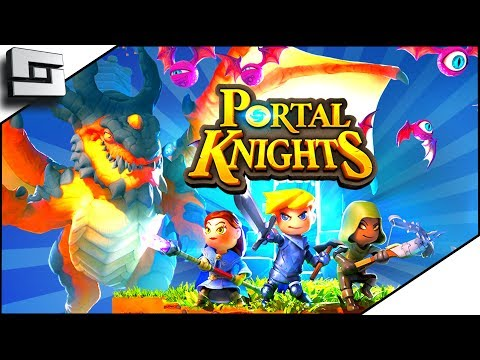 Portal Knights -  HORSESHOE HOLDOUT PORTAL! Portal Knights Gameplay Ep 2