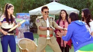 Pawan Kalyan's Gabbar Singh Antakshari - Jabardast Shadow Comedy  - Venkatesh, Tapsee