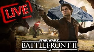 Star Wars Battlefront 2 Kessel Extraction Gameplay Livestream! Han Solo DLC Season 2!