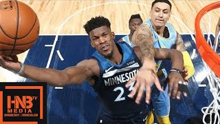 Los Angeles Lakers vs Minnesota Timberwolves Full Game Highlights / Jan 1 / 2017-18 NBA Season