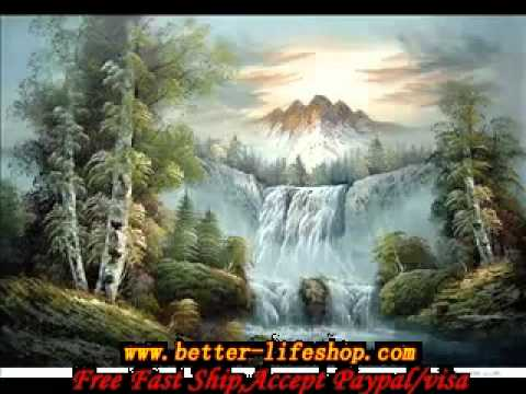 Paintings of Nature Scenes Natural Scenery Oil Paintings
